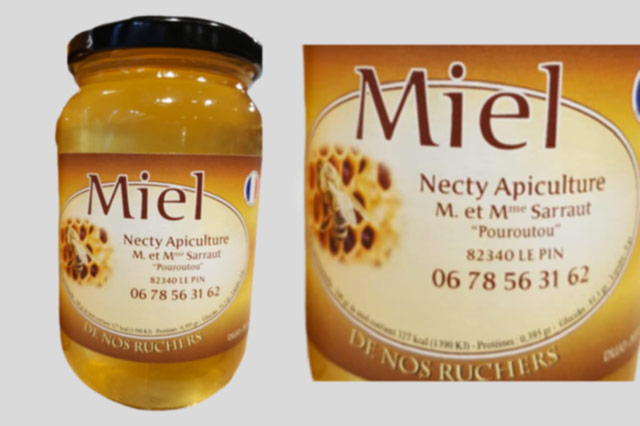 Miel Necty Apiculture
